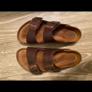 Birkenstock Arizona Habana Oiled Leather SFB